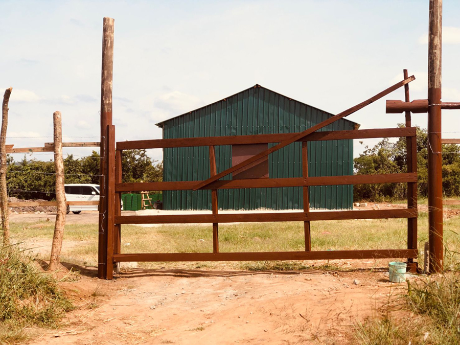 Work on new rearing facility completed